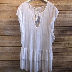 Jessica Simpson Crochet Swim Coverup